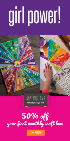 craft kit subscription for kids ann williams
