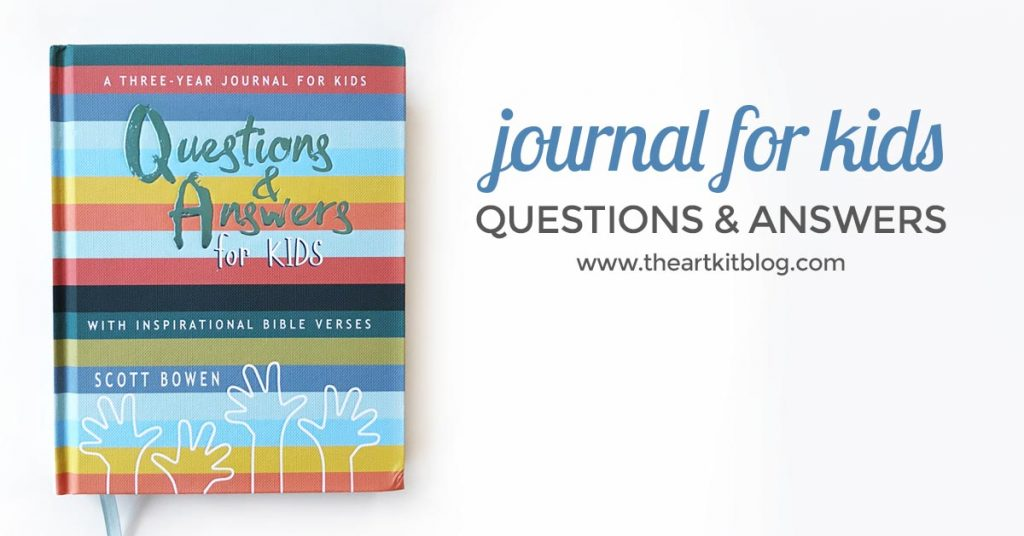 questions and answers for kids review journal