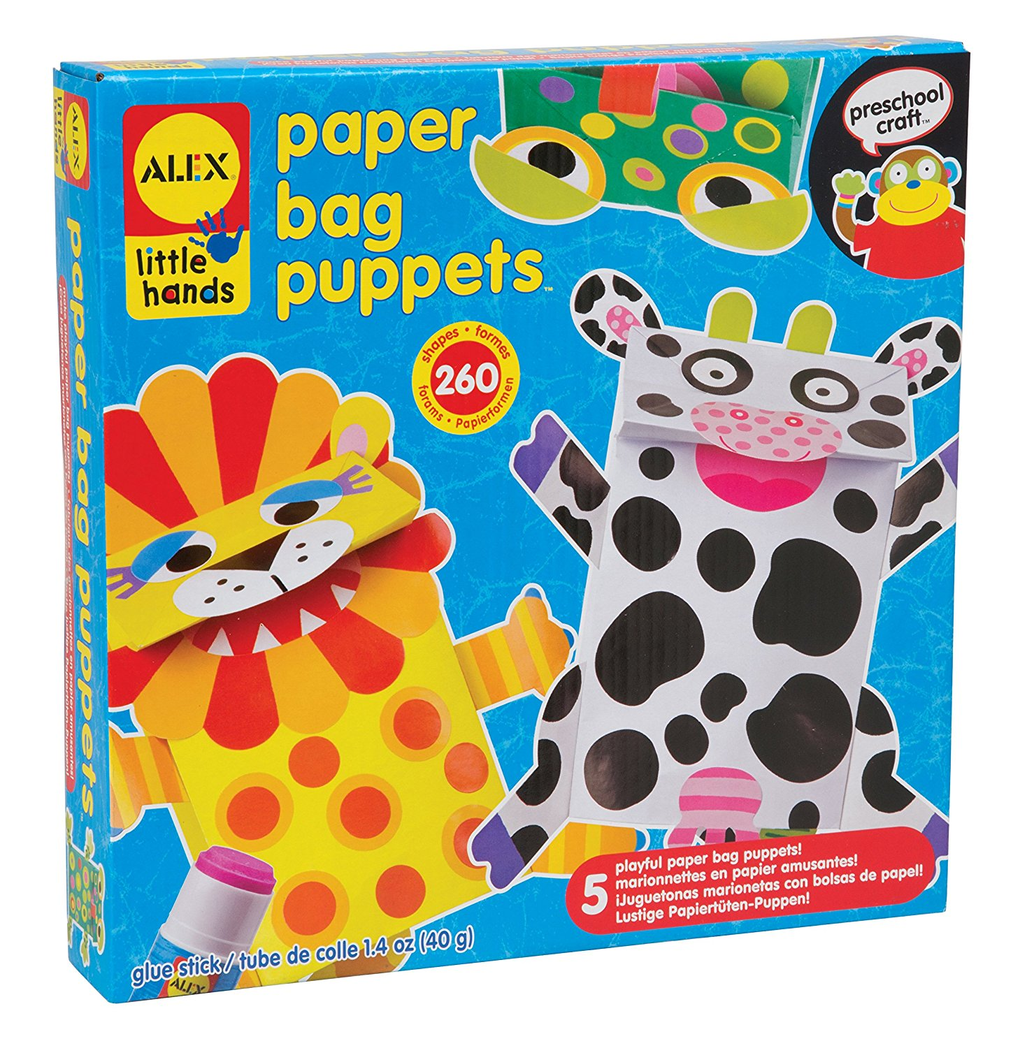 ALEX Toys Little Hands Paper Bag Puppets SALE ALERT