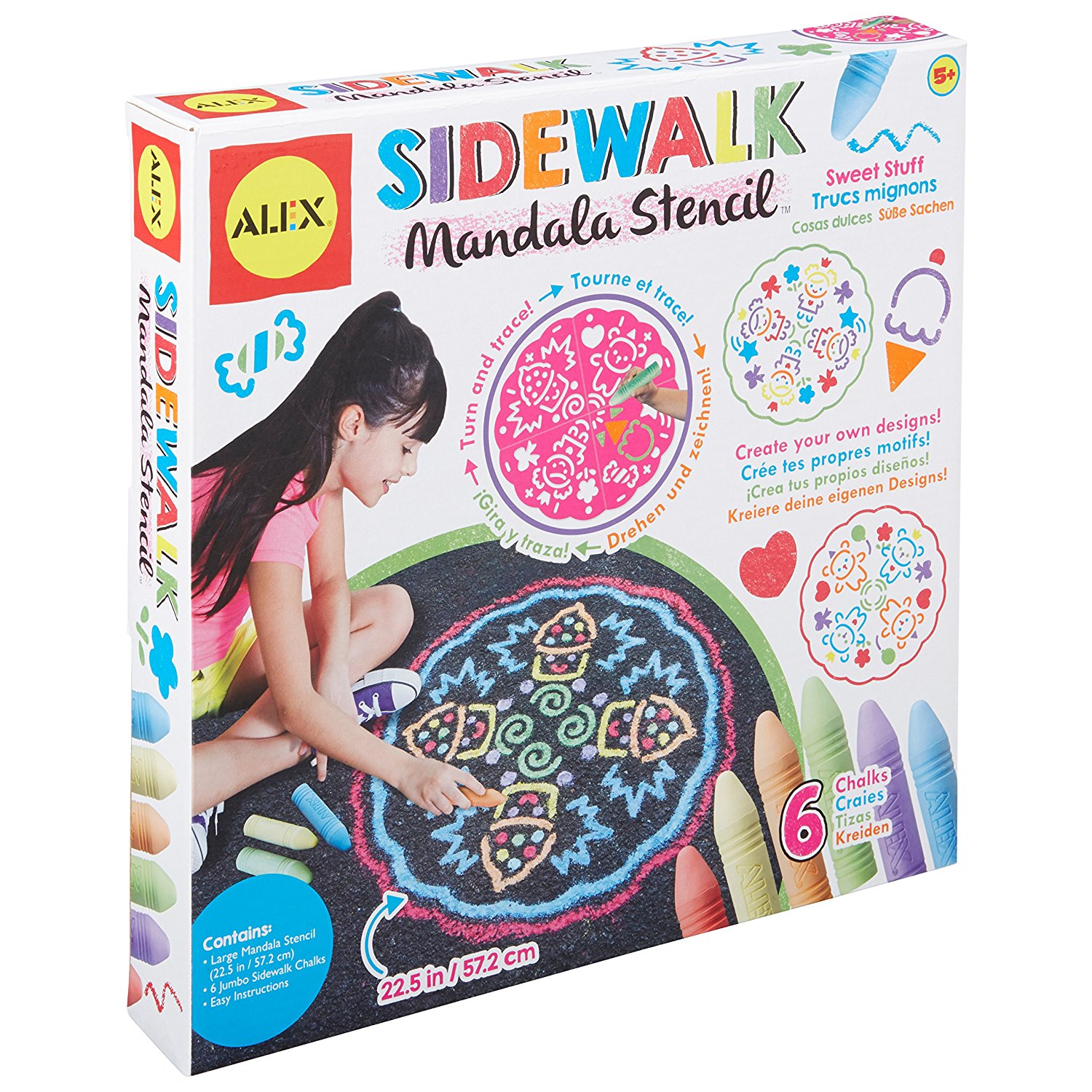 ALEX Toys Artist Studio Sidewalk Mandala on Sale for Only $7.58