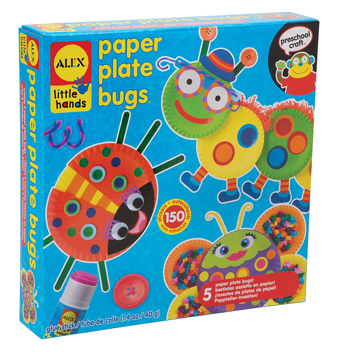 Paper Plate Bugs – Easy Craft Kit – Sale Alert