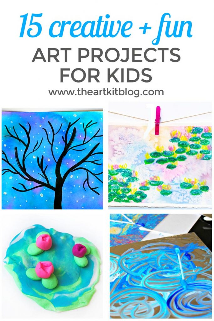 ART PROJECTS FOR KIDS pinterest