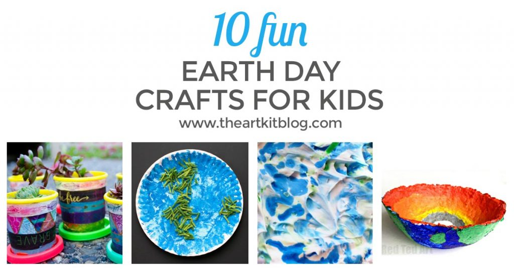 EARTH DAY CRAFTS for kids FACEBOOK