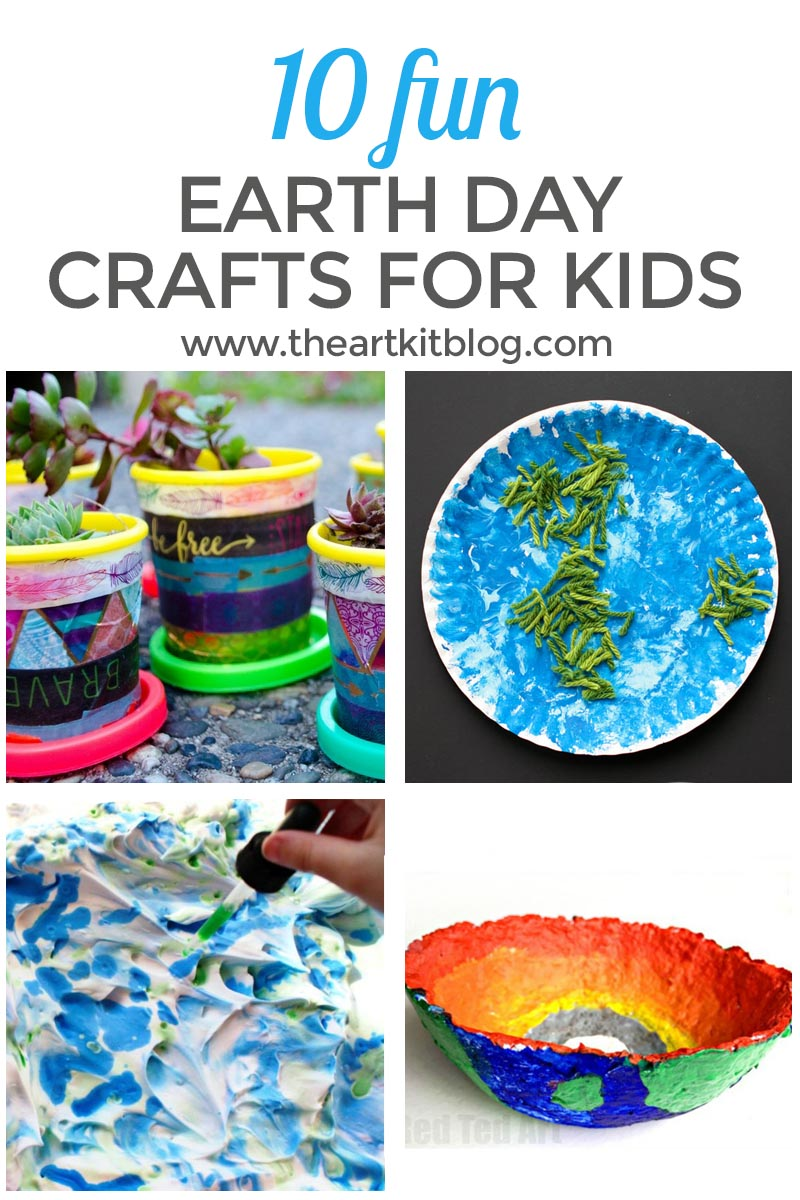 10 Fun Earth Day Crafts for Kids