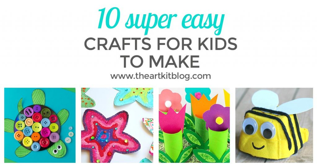 EASY CRAFTS FOR KIDS to make facebook