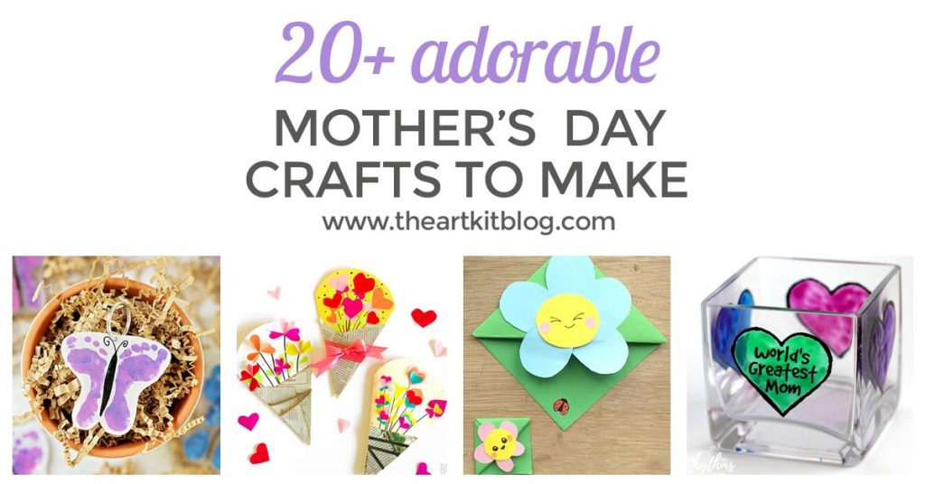 MOTHERS DAY CRAFTS for kids to make facebook
