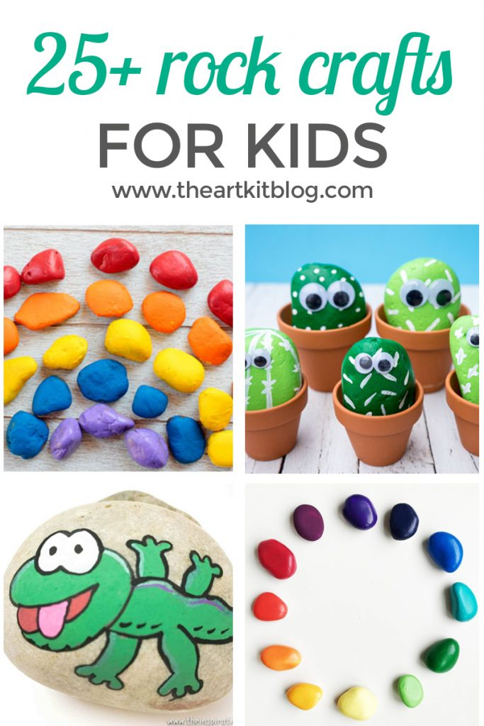 ROCK PAINTING IDEAS for kids facebook
