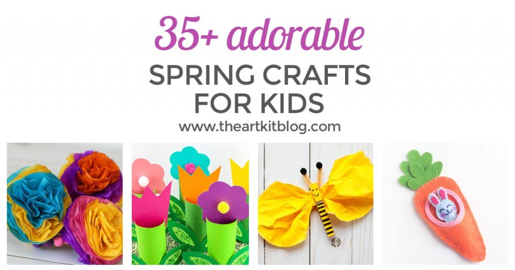 SPRING CRAFTS FOR KIDS facebook