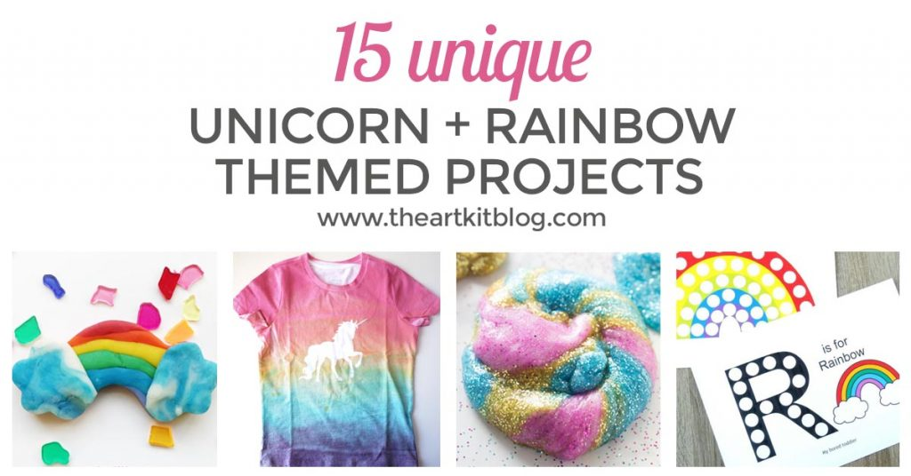 UNICORNS AND RAINBOWS pinterest