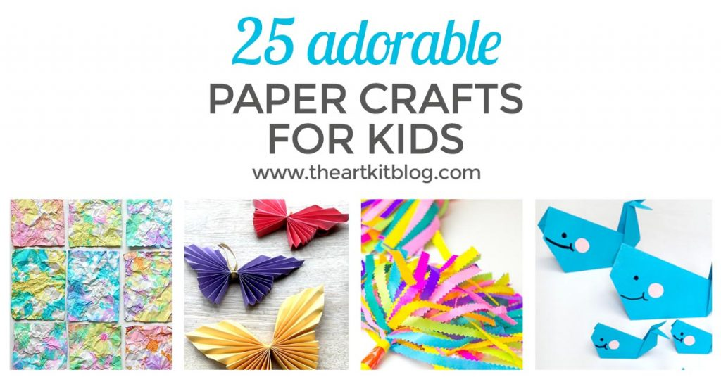 adorable PAPER CRAFTS for kids FACEBOOK