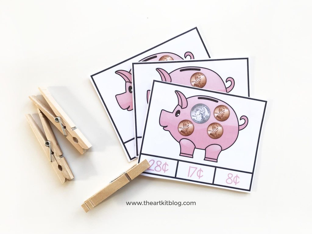 coin counting free printables pinterest