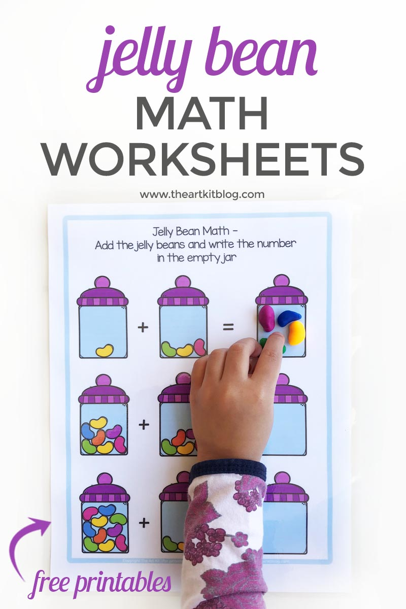 jelly bean math worksheets 3