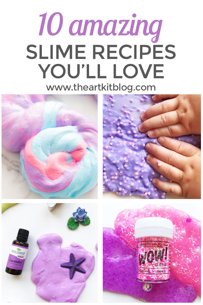 HOW TO MAKE SLIME PINTEREST