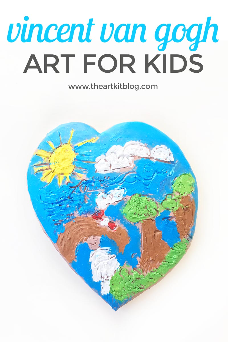 Vincent van Gogh in Clay: Art for Kids
