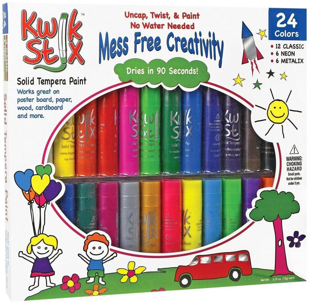 kwik stix no mess art and craft supply for kids