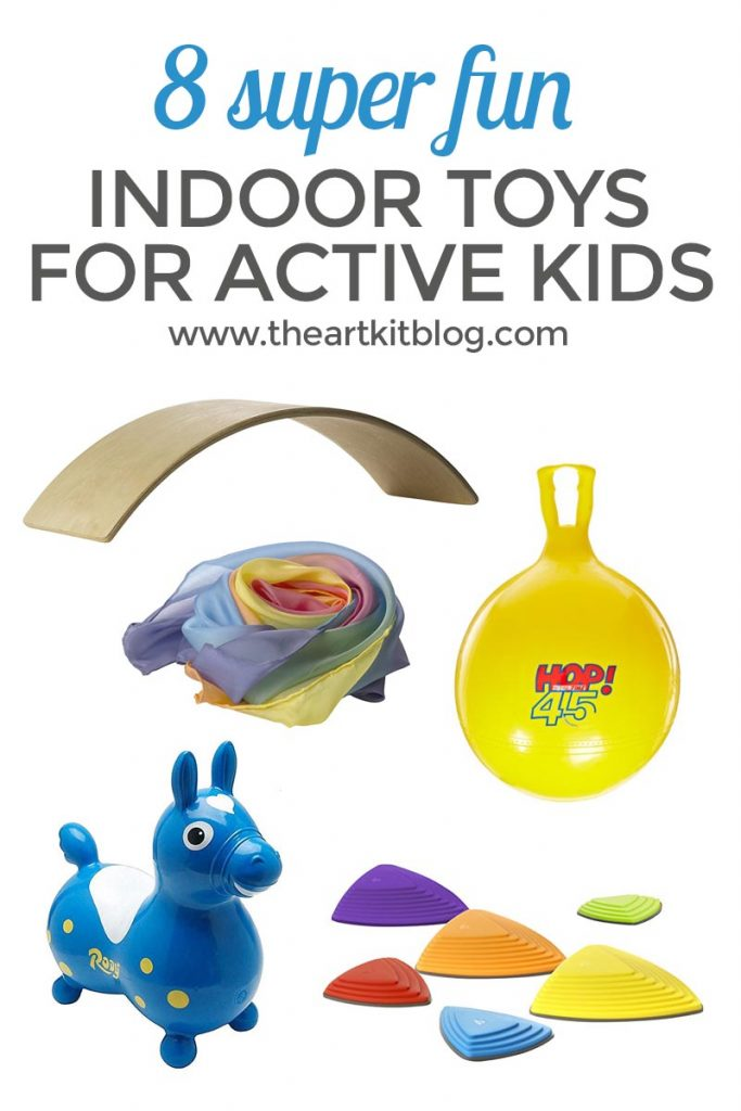 8 Super fun indoor toys and activities for active kids