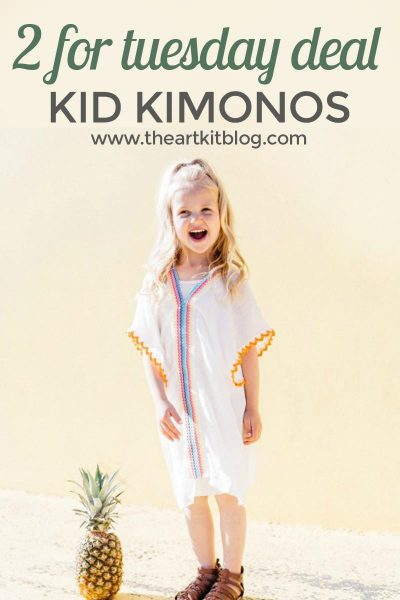 2 For Tuesday – Darling Kid Kimonos