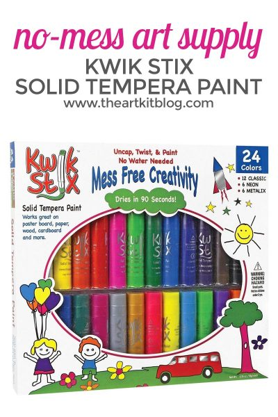 No-Mess Kwik Stix Solid Tempera Paint Sticks {Sale Alert}