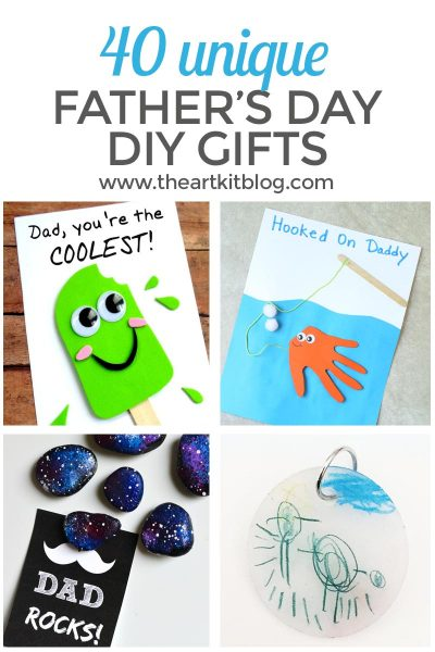 40 DIY Father's Day Gifts You Can Make Right Now