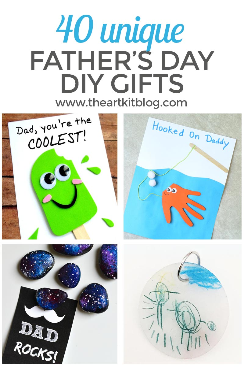 40 DIY Father\'s Day Gifts You Can Make Right Now - The Art Kit