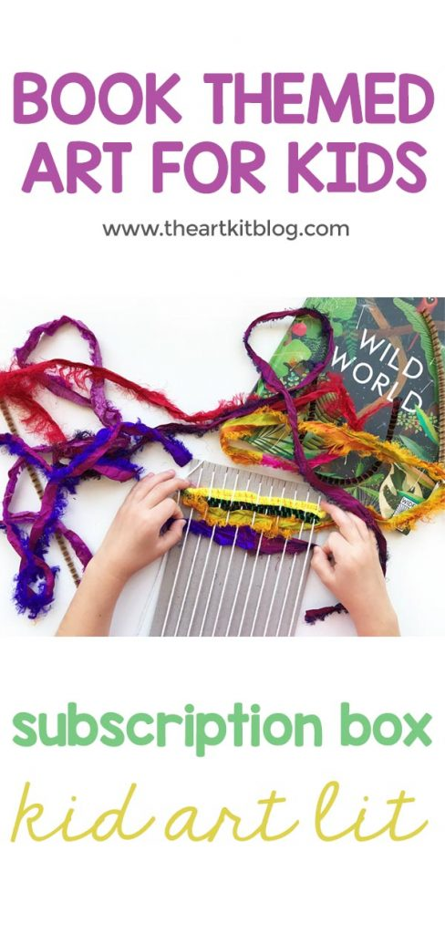 kidartlit review weaving art book subscription box for kids 2