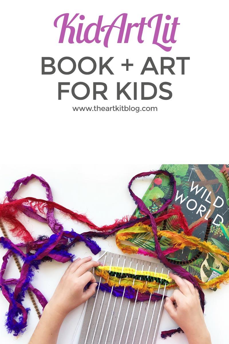 Subscription Box for Kids: KidArtLit {Book + Art for Kids