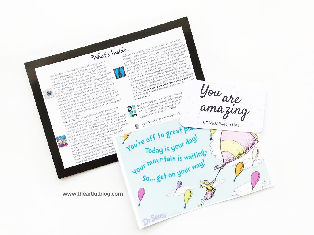 sensory theraplay box review subscription box