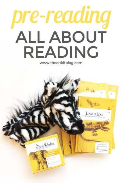 Review: All About Reading – Pre-Reading Level