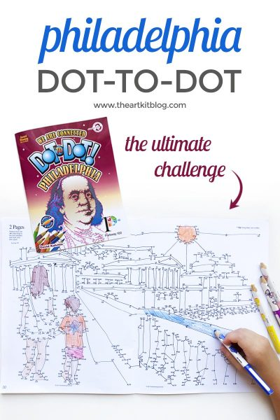 Review of Dot-to-Dot Philadelphia: An Award Winning Book