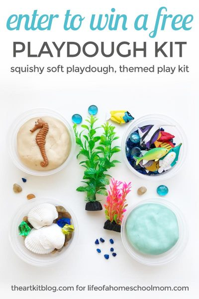 enter to win a free playdough kit from the art kit life of a homeschool mom giveaway PINTEREST