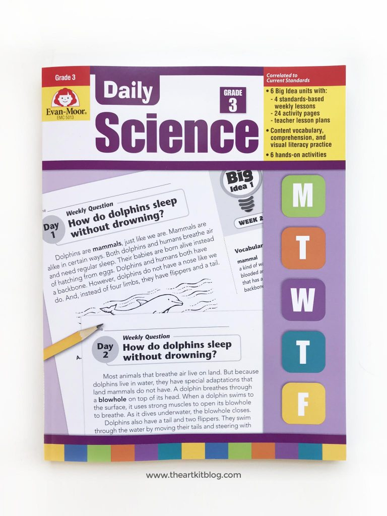 evan moore daily science grade 3 review curriculum book homeschool