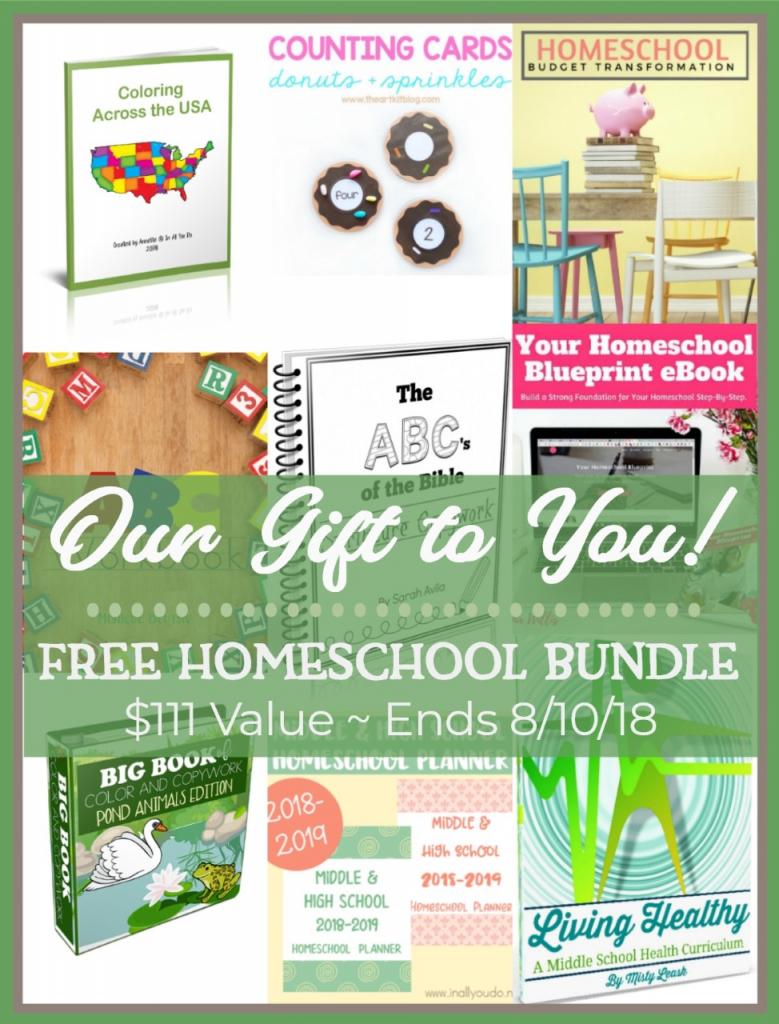 free homeschool bundle printables 2