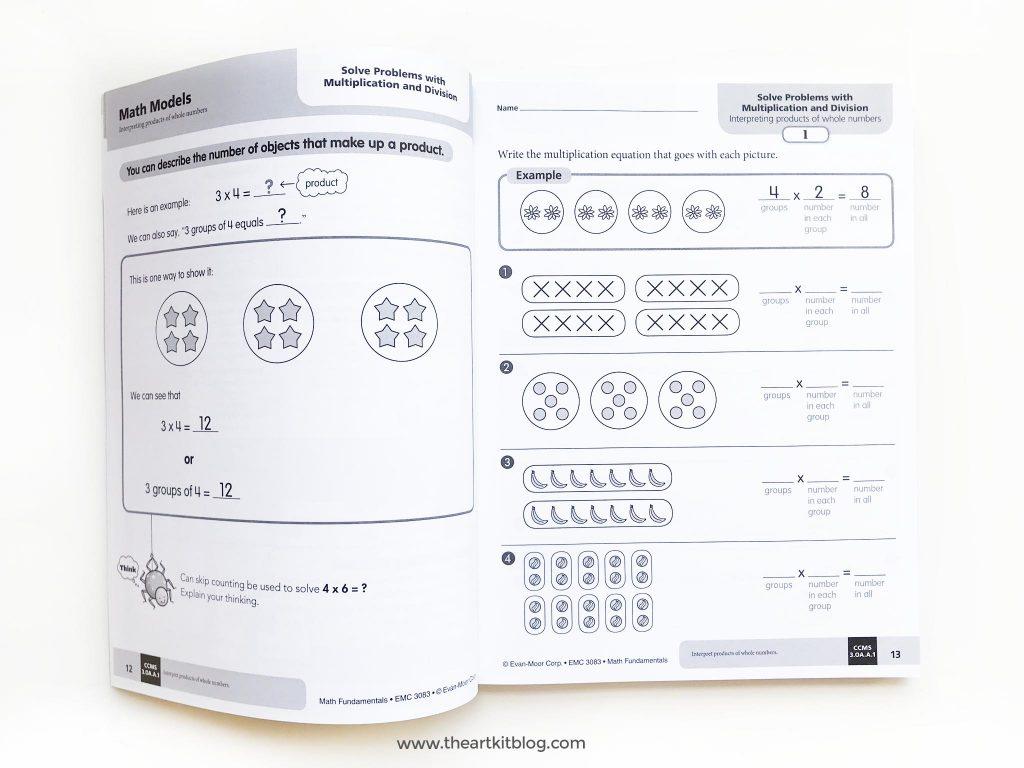 math fundamentals book review grade 3 homeschool curriculum FACEBOOK