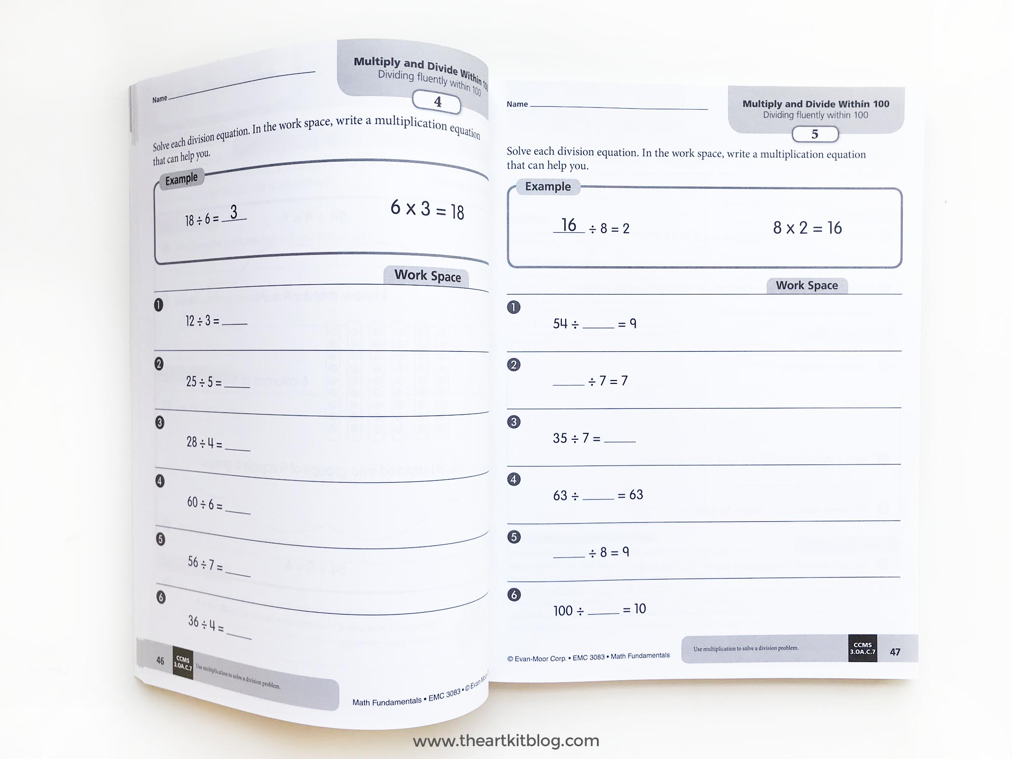 math fundamentals book review grade 3 homeschool curriculum
