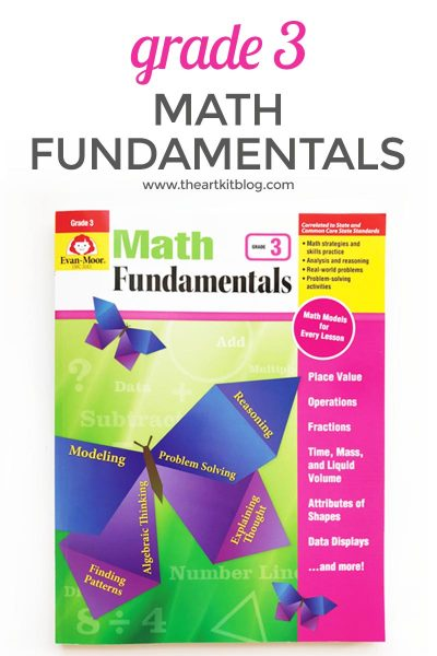 Review: Evan-Moor Math Fundamentals Grade 3