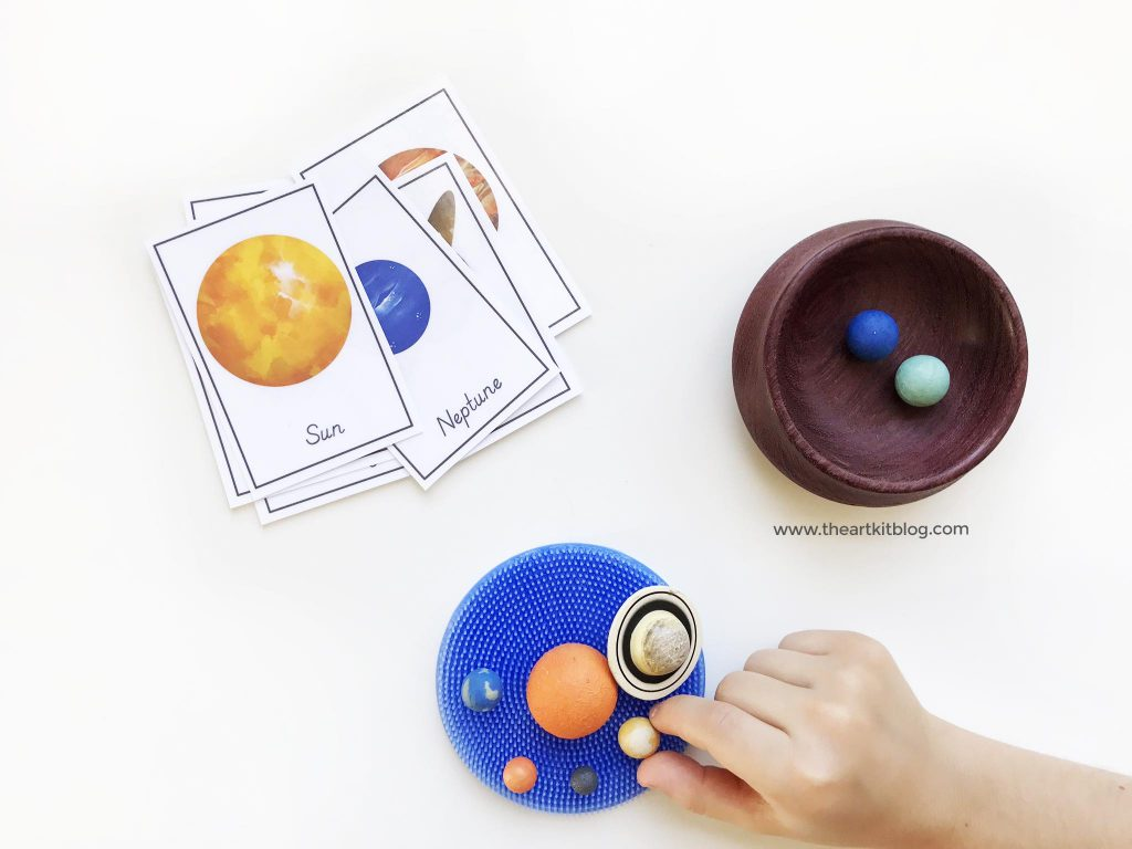 spike toys fidget sensory outer space activity planets kids