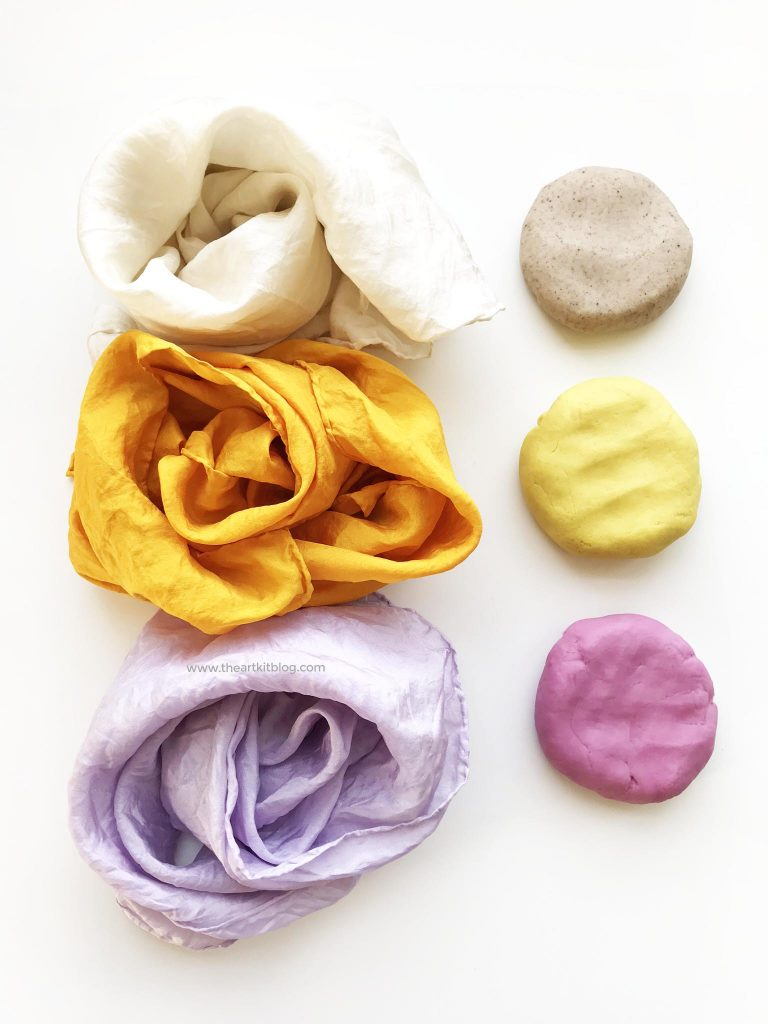 dye your own silk natural dyes food homemade playdough recipe how to make 5