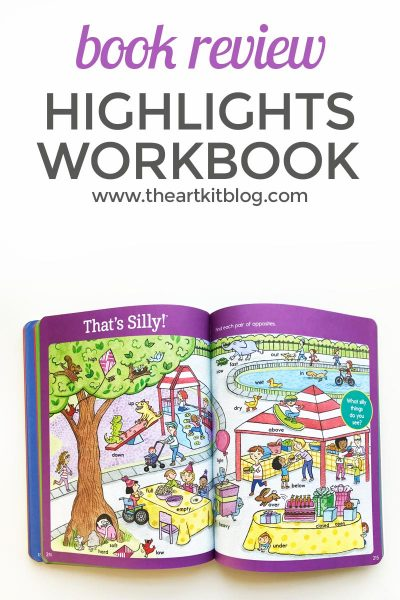 Highlights The Big Fun Kindergarten Workbook Review