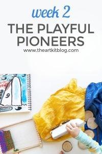peaceful press review playful pioneers week 2 homeschool early education elementary curriculum pinterest