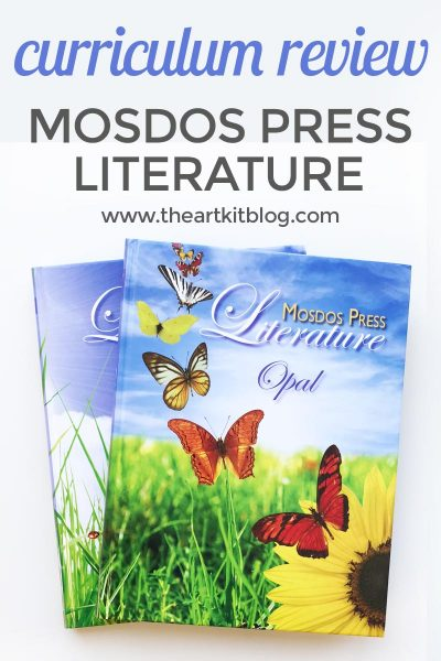 Mosdos Press Literature – Opal – Review {3rd Grade}