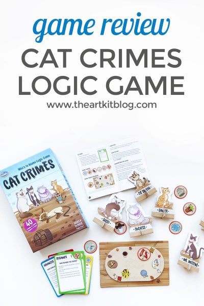 Cat Crimes Logic Game {Review}