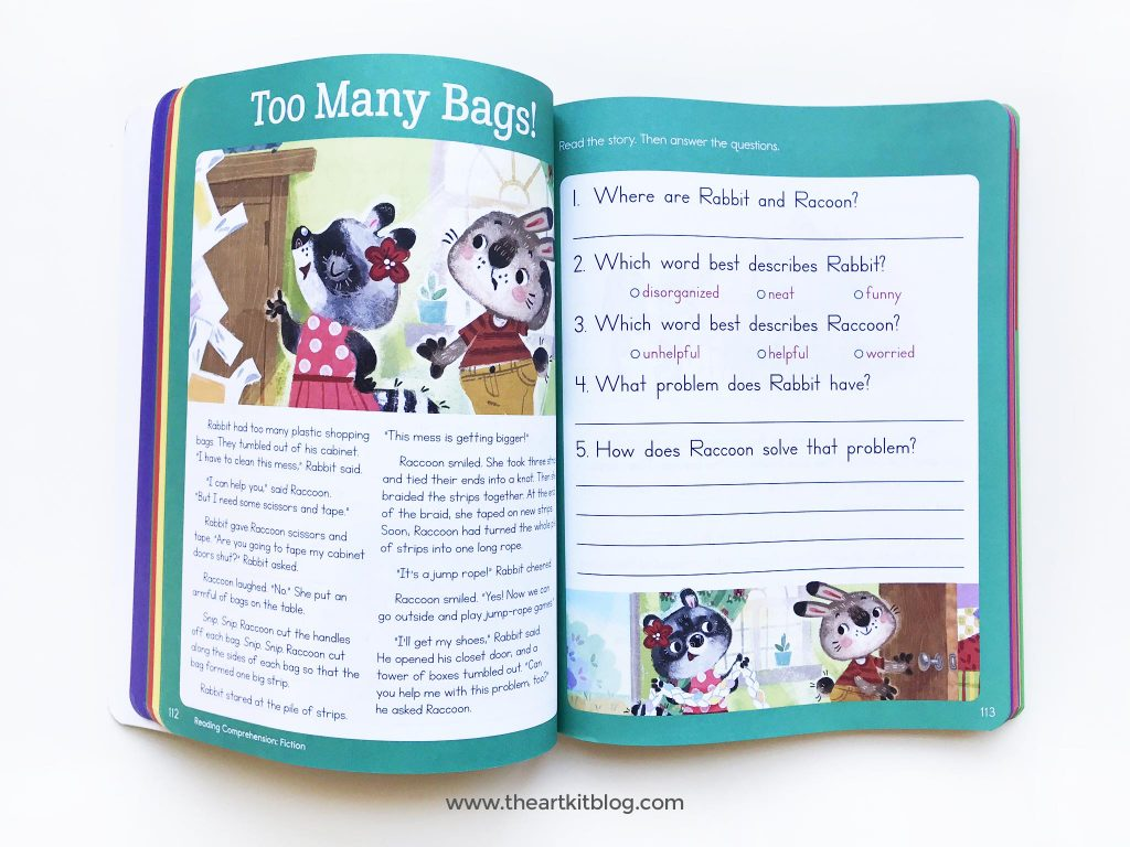 highlights 2nd grade workbook review image