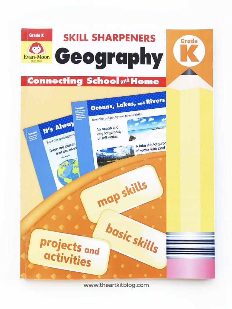 skill sharpeners geography evan moor kindergarten review image picture pinterest