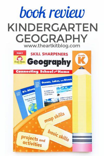 Review: Evan-Moor Skill Sharpeners Geography – Kindergarten