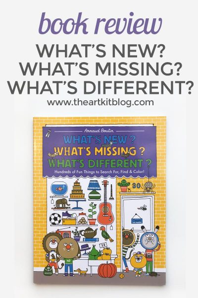 What's New? What's Missing? What's Different? {Book Review}
