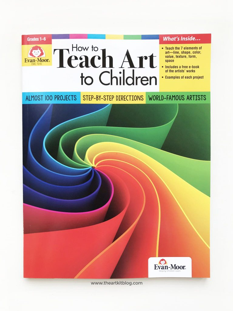 How to Teach Art to Children: Evan-Moor Book Review - The Art Kit