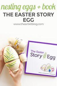 easter story egg review nesting resurrection kids pinterest original