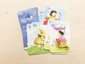 Simple and fun matching card game for children review. Match pairs and practice simple addition and skip counting by 2's and 5's with eeboo's gorgeous fairy queen game.
