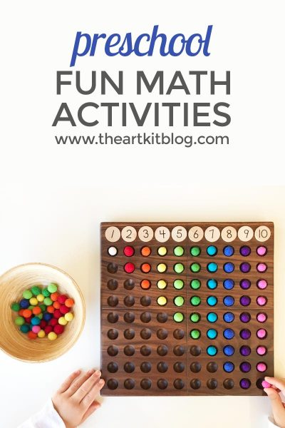 math activities for preschoolers _ game montessori waldorf count 2 PINTEREST