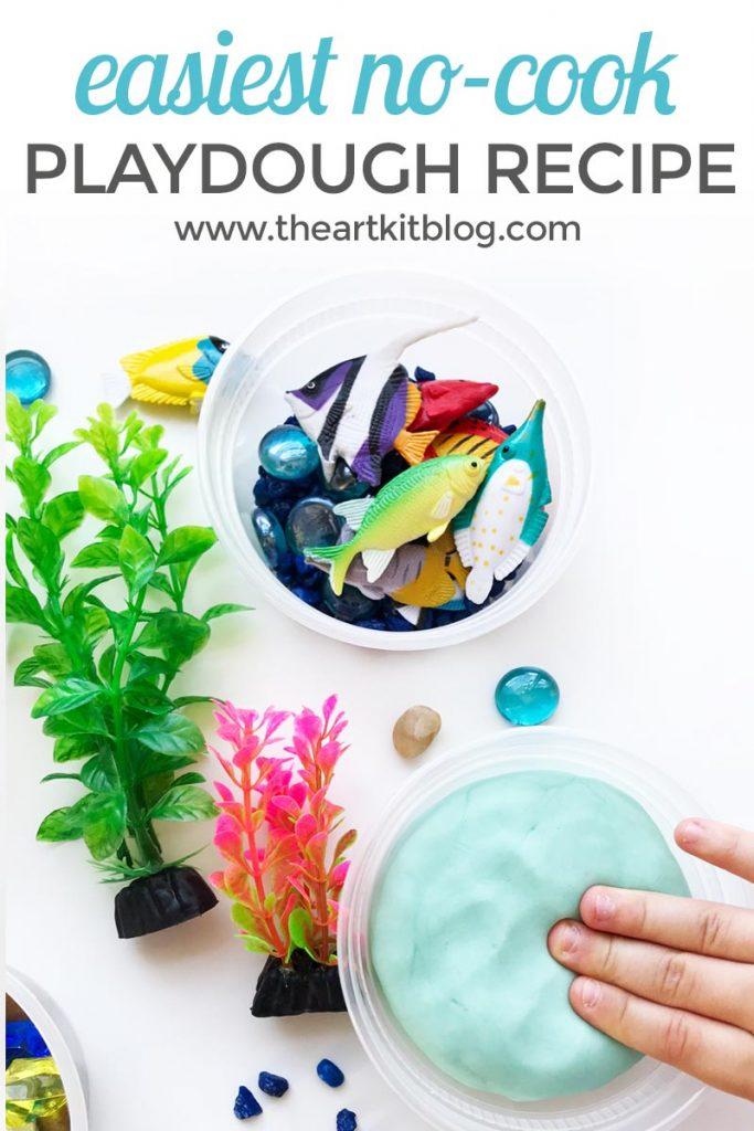 no cook playdough recipe handmade pinterest